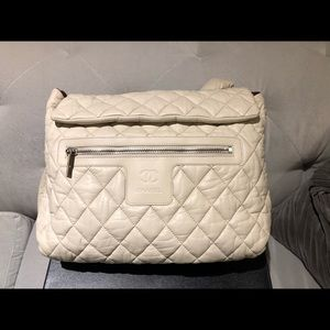 Coco Cocoon Quilted Lambskin Backpack